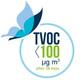 TVOC after 28 days < 100 µg/m3